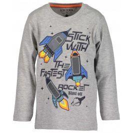 Blue Seven Chlapecké tričko s raketami - šedé
