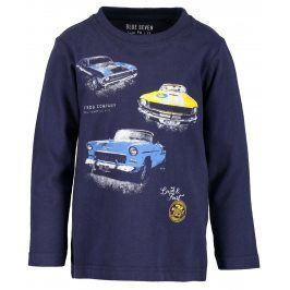 Blue Seven Chlapecké tričko s auty - modré