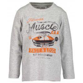Blue Seven Chlapecké tričko s autem - šedé