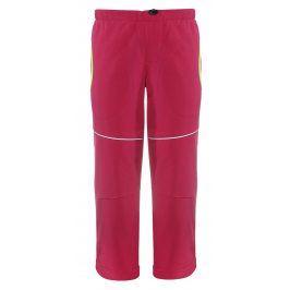 GOOD2GO Dívčí softshellové kalhoty - růžové
