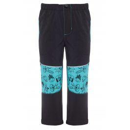 GOOD2GO Chlapecké softshellové kalhoty - černo-modré