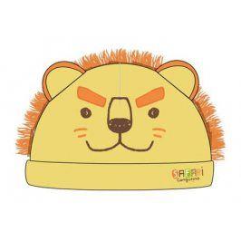 Cangurino Chlapecká čepice Lev - žlutá