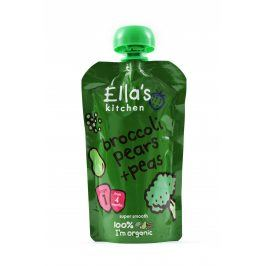 Ella's Kitchen Brokolice, hruška a hrášek