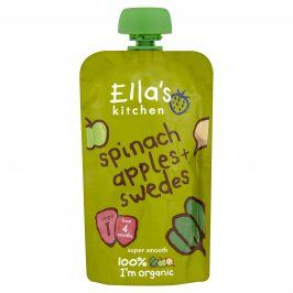 Ella's Kitchen Špenát, jablko a tuřín