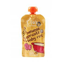 Ella's Kitchen Detská rýže - Banán a meruňka