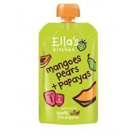Ella's Kitchen Mango, hruška a papája