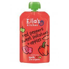 Ella's Kitchen Červená paprika, sladké brambory a jablko