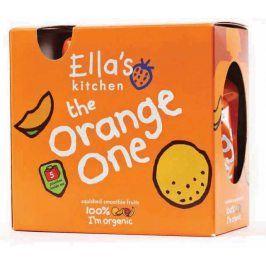 Ella's Kitchen Ovocné pyré - Orange One (Mango) - 5 ks