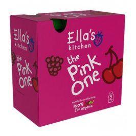 Ella's Kitchen Ovocné pyré - Pink One (Třešeň) - 5 ks