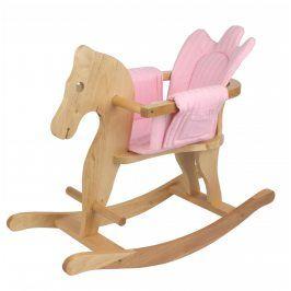 Bayer Design Koník houpací růžový