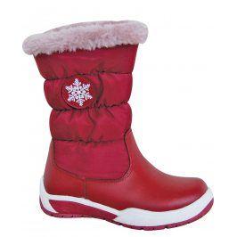 Protetika Dívčí sněhule Snow - červené