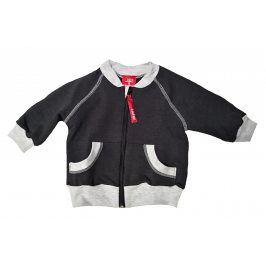 Lafel Chlapecká mikina Future Rider - tmavě šedá