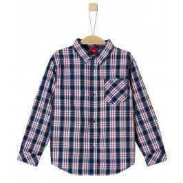s.Oliver Chlapecká košile - modro-červená