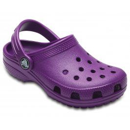 Crocs Dívčí sandály Classic Clog - fialové