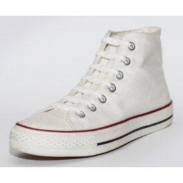 Shoeps Tkaničky bílé - white