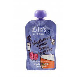 Ella's Kitchen Snídaně - Borůvky, hruška a jogurt