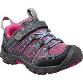 Keen Dívčí outdoorová obuv Oakridge - šedo-růžová