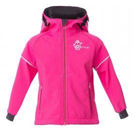 O'Style Dívčí softshellová bunda Ivon II - růžová