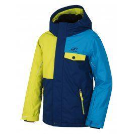 Hannah Chlapecká lyžařská bundy Timur JR - modro-žlutá
