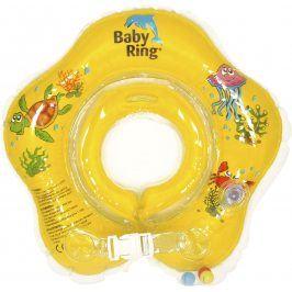 Babypoint Baby ring 0-24m, žlutá