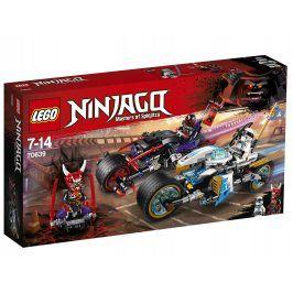 LEGO® NINJAGO™ 70639 Pouliční závod Hadího jaguáru