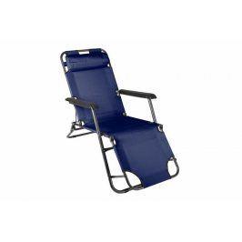Garthen 29462 Skládací zahradní lehátko - modrá