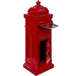 Tuin 27741 Poštovní schránka starožitná antik - červená