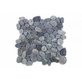 Garth Mozaika říční oblázky - šedá obklady - 1x síťka