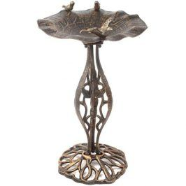 Ptačí koupel krmítko z bronzu Garth