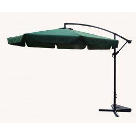 Tradgard EXCLUSIVE 62753 Zahradní slunečník boční - zelený