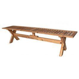 Tradgard GORDON 59958 Dřevěná lavice - 200 cm