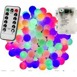 VOLTRONIC® 67299 Párty osvětlení - 5 m, 50 LED diod, barevné, na baterie