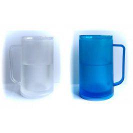 Ledový korbel 330 ml - modrý