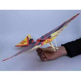 Sestav si letadýlko ve tvaru ptáčka - Červený drak