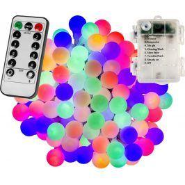 VOLTRONIC® 67305 Párty osvětlení - 10 m, 100 LED diod, barevné, na baterie