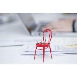 Držák na kancelářské svorky - židle