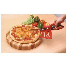Nůžkový kráječ na pizzu 2v1