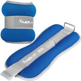 MOVIT 66382 Neoprenové zátěžové reflexní manžety - 2 x 3 kg