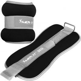 MOVIT 66377 Neoprenové zátěžové manžety reflexní - 2 x 2 kg