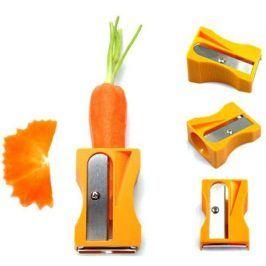 Ořezávátko a škrabka na mrkev a zeleninu - Růžová