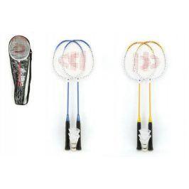 Donnay Badminton sada + 3 košíčky kov 66cm - 3 barvy