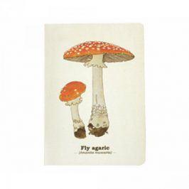 Poznámkový blok A5 s houbami