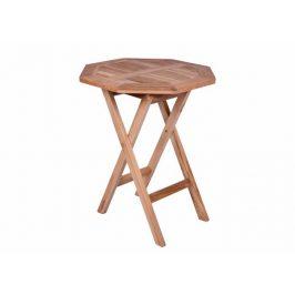 Garthen 2340 Zahradní stolek z týkového dřeva, Ø 60cm
