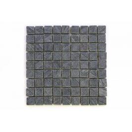 Divero Garth 1641 Mozaika z andezitu - černá 1 m2 - 30x30x0,4 cm