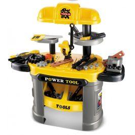 G21 51657 Dětské nářadí pracovní stůl žlutý