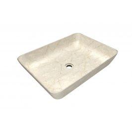 Indera Satis Cream 62958 Umyvadlo z přírodního kamene