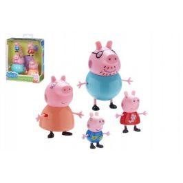 TM Toys Prasátko Peppa sada figurek celá rodina 4 ks