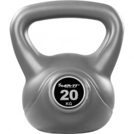 MOVIT® 20 kg Kettlebell šedá