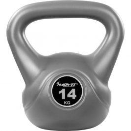 MOVIT® 14 kg Kettlebell šedá