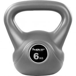 MOVIT® 6 kg Kettlebell šedá